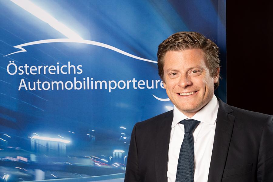 Porträt von Christian Pesau, Geschäftsführer des Arbeitskreises der Automobilimporteure